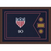 "Adjutant General 28"" x 20"" Guidon Design 2820-D1-M6 Framed"