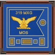 "Air Force 20"" x 15"" Guidon Design 2015-D1-M4 Framed"