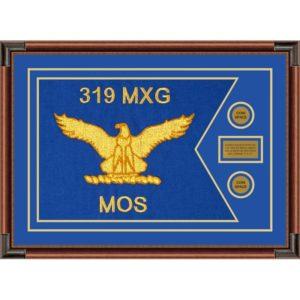 """Air Force 28"""" x 20"""" Guidon Design 2820-D1-M4 Framed"""