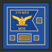 "Air Force 12"" x 9"" Guidon Design 129-D2-M2 Framed"
