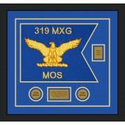 """Air Force 20"""" x 15"""" Guidon Design 2015-D2-M5 Framed"""