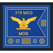 """Air Force 28"""" x 20"""" Guidon Design 2820-D2-M5 Framed"""