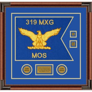 "Air Force 20"" x 15"" Guidon Design 2015-D3-M4 Framed"