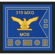 """Air Force 28"""" x 20"""" Guidon Design 2820-D3-M5 Framed"""