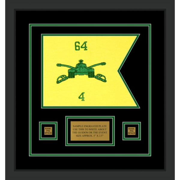 "Armor Corps 12"" x 9"" Guidon Design 129-D1-M2"