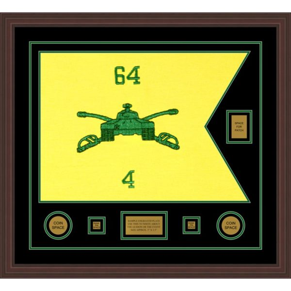 "Armor Corps 28"" x 20"" Guidon Design 2820-D2-M6"