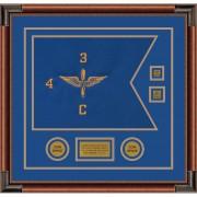 """Aviation 20"""" x 15"""" Guidon Design 2015-D3-M4 Framed"""