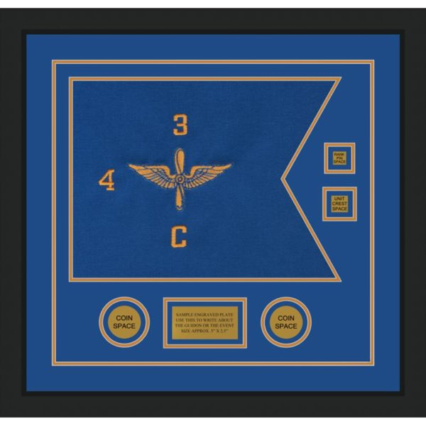 "Aviation 20"" x 15"" Guidon Design 2015-D3-M5"