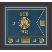 "Branch Immaterial 28"" x 20"" Guidon Design 2820-D2-M6 Framed"