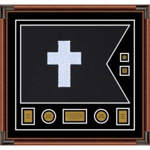"Chaplain 28"" x 20"" Guidon Design 2820-D3-M4 Framed"