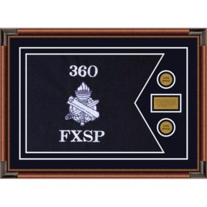 "Civil Affairs 28"" x 20"" Guidon Design 2820-D1-M4 Framed"