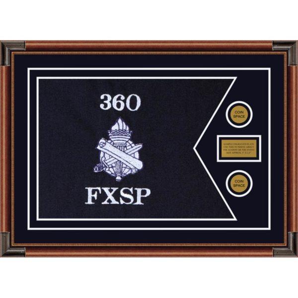 "Civil Affairs 28"" x 20"" Guidon Design 2820-D1-M4 Framed"