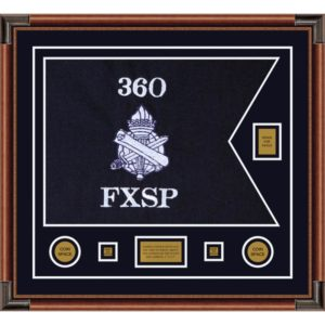 "Civil Affairs 28"" x 20"" Guidon Design 2820-D2-M4 Framed"
