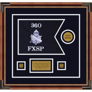"Civil Affairs 12"" x 9"" Guidon Design 129-D3-M1 Framed"