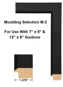 Framed Guidons Moulding Selection M-2
