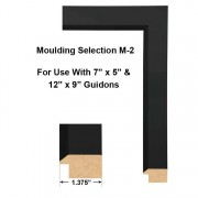 Moulding Selection M-2 Framed Guidons