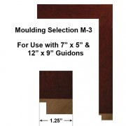 Moulding Selection M-3 Framed Guidons