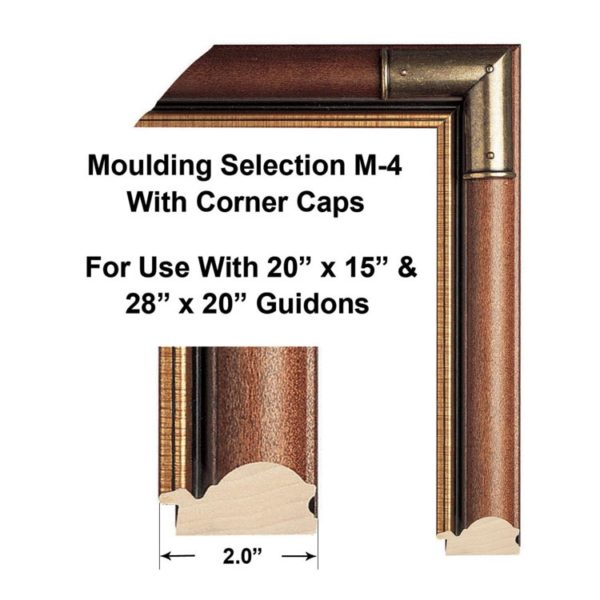 M-4 Moulding-Selection Framed Guidons