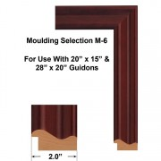 M-6 Moulding-Selection Used To Frame Guidons