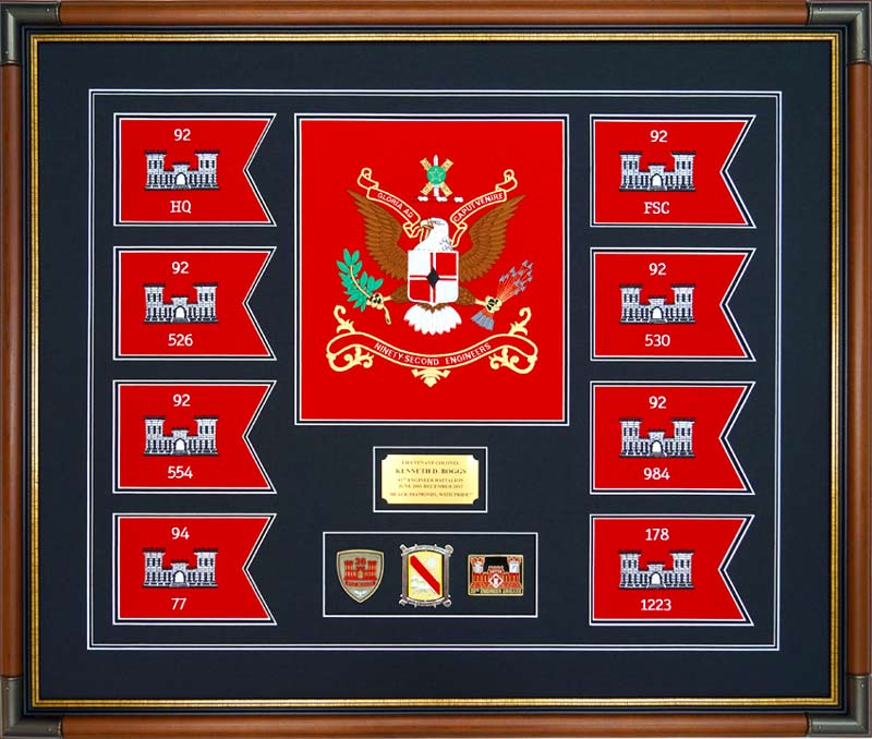 defining framed guidon quality and design
