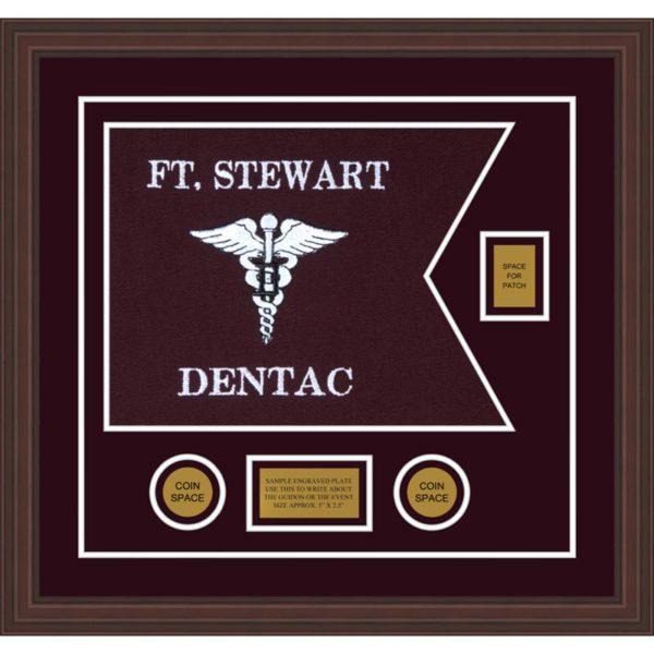 "Dental Corps 20"" x 15"" Guidon Design 2015-D2-M6"