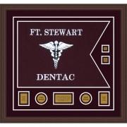 "Dental Corps 28"" x 20"" Guidon Design 2820-D3-M6 Framed"
