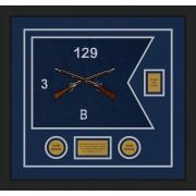 "Infantry Version 2 20"" x 15"" Guidon Design 2015-D2-M5"