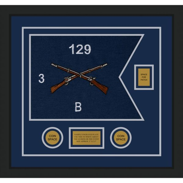 "Infantry Version 2 20"" x 15"" Guidon Design 2015-D2-M5"