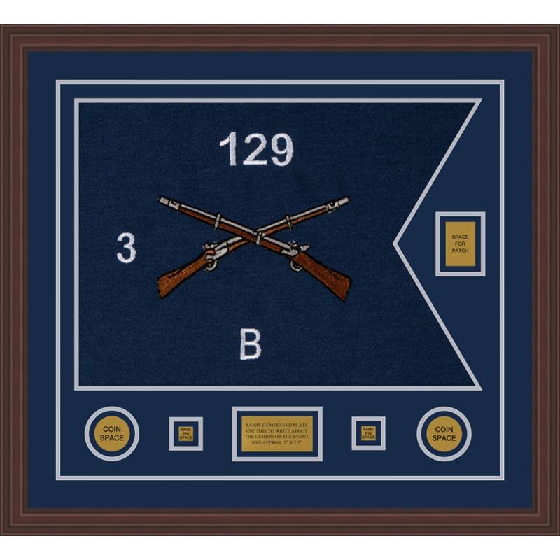 Infantry Version 2 28 X 20 Guidon Design 2820 D2 M6