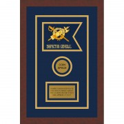 "Inspector General 7"" x 5"" Guidon Design 75-D3-M3 Frame"