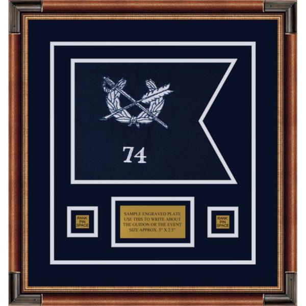 "Judge Advocate General 12"" x 9"" Guidon Design 129-D1-M1"