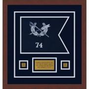 "Judge Advocate General 12"" x 9"" Guidon Design 129-D1-M3"
