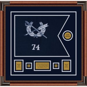 "Judge Advocate General 20"" x 15"" Guidon Design 2015-D1-M4"