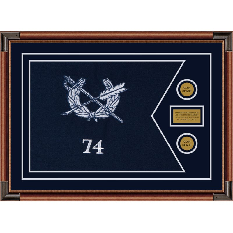 "Judge Advocate General 28"" x 20"" Guidon Design 2820-D1-M4"