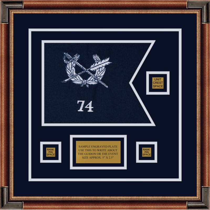 "Judge Advocate General 12"" x 9"" Guidon Design 129-D2-M1"