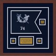 "Judge Advocate General 12"" x 9"" Guidon Design 129-D2-M3"