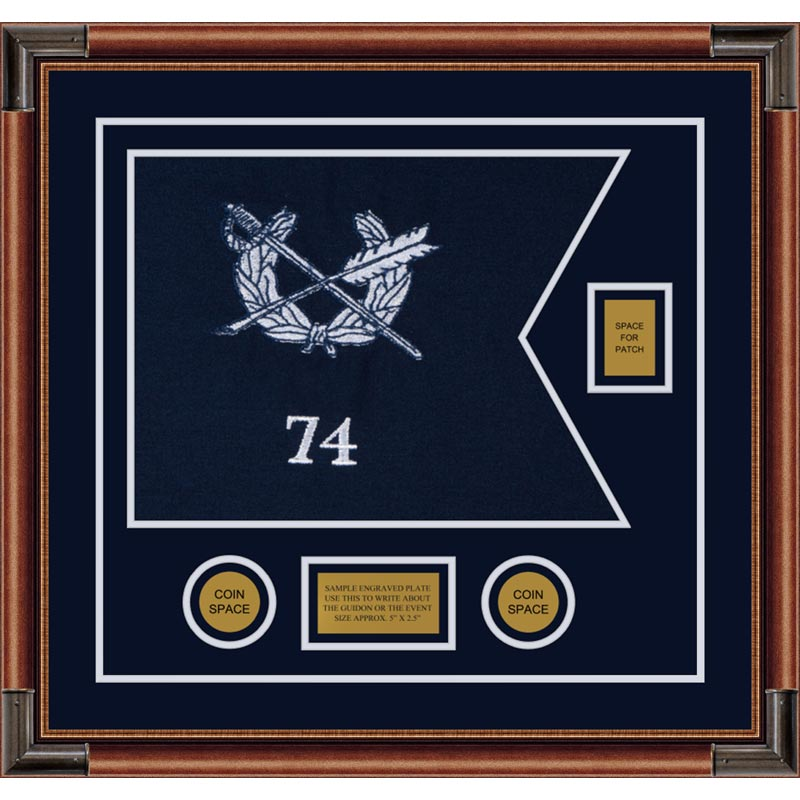 "Judge Advocate General 20"" x 15"" Guidon Design 2015-D2-M4"