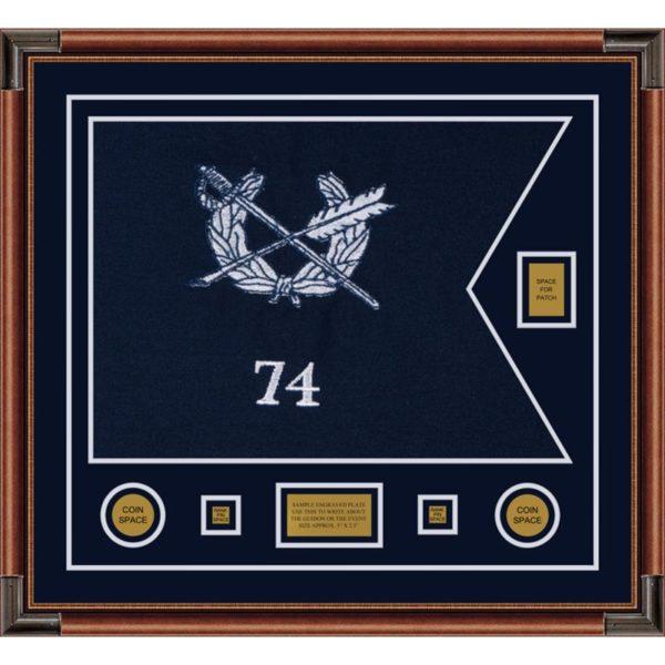 "Judge Advocate general 28"" x 20"" Guidon Design 2820-D2-M4"