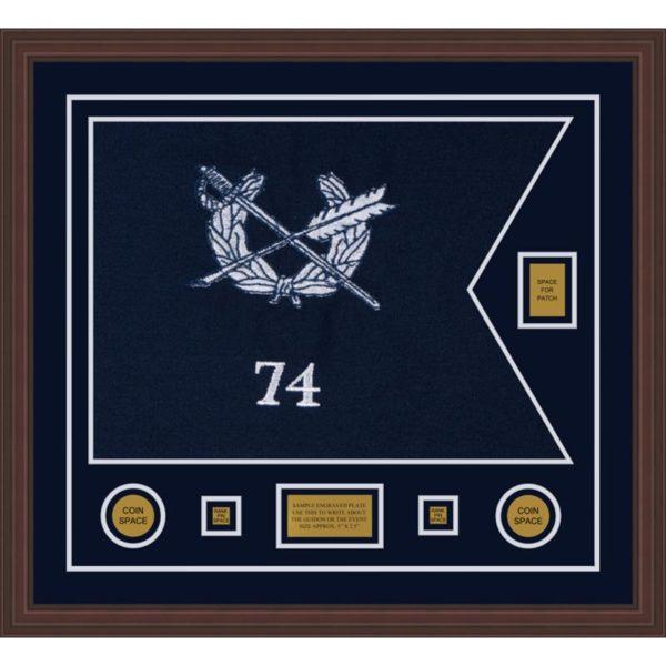 "Judge Advocate general 28"" x 20"" Guidon Design 2820-D2-M6"
