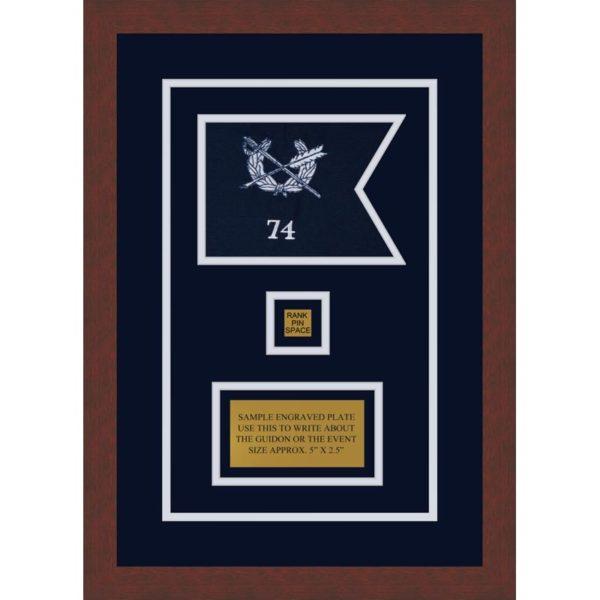 "Judge Advocate General 7"" x 5"" Guidon Design 75-D2-M3"
