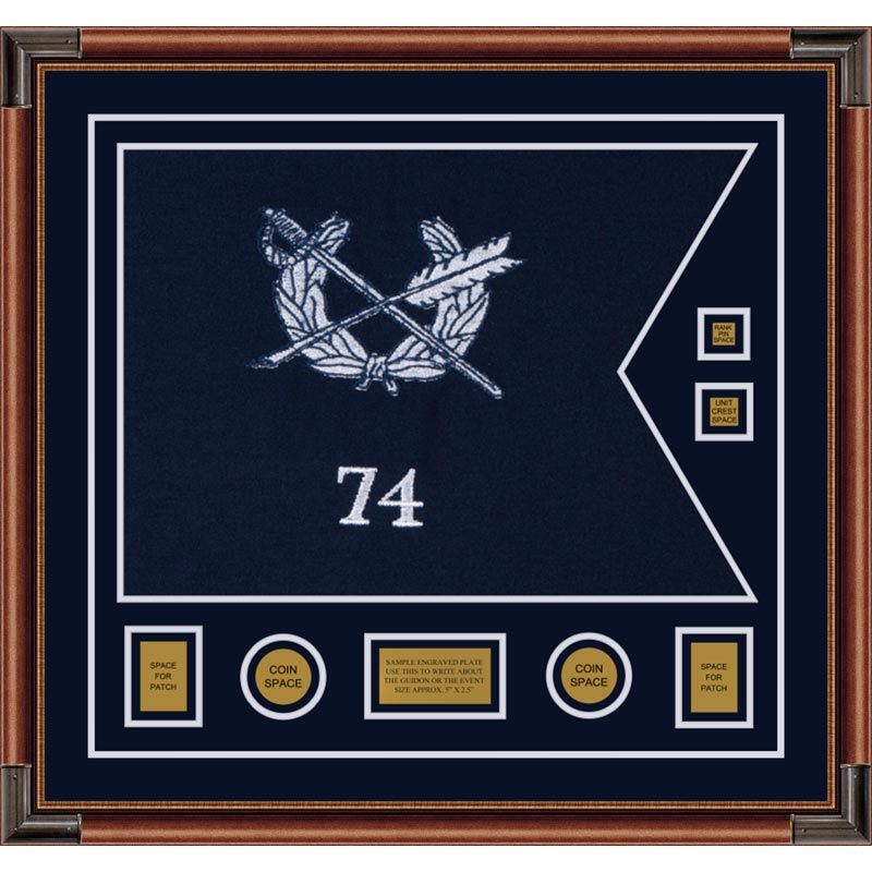 "Judge Advocate General 28"" x 20"" Guidon Design 2820-D3-M4"