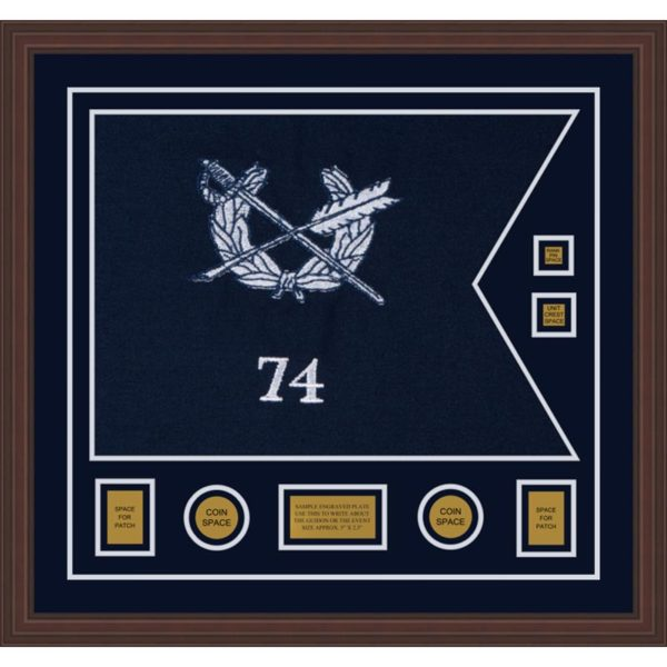 "Judge Advocate General 28"" x 20"" Guidon Design 2820-D3-M6"