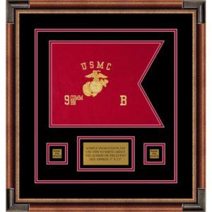 "Marine Corps 12"" x 9"" Guidon Design 129-D1-M1"