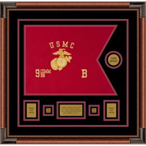 "Marine Corps 20"" x 15"" Guidon Design 2015-D1-M4"