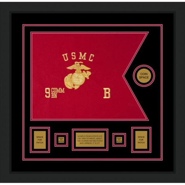 "Marine Corps 20"" x 15"" Guidon Design 2015-D1-M5"