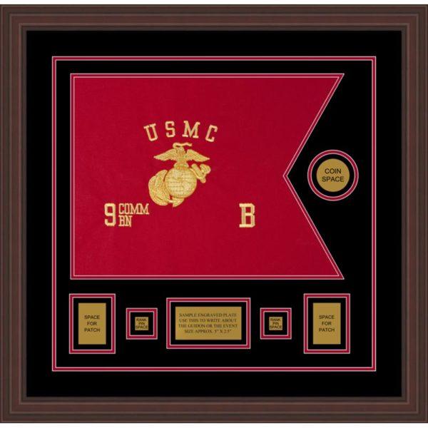"Marine Corps 20"" x 15"" Guidon Design 2015-D1-M6"