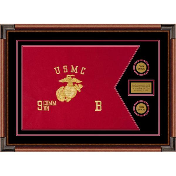 "Marine Corps 28"" x 20"" Guidon Design 2820-D1-M4"
