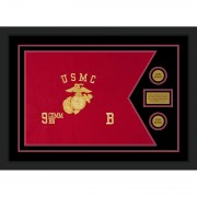 "Marine Corps 28"" x 20"" Guidon Design 2820-D1-M5"