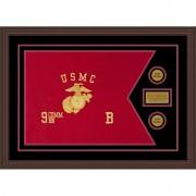 "Marine Corps 28"" x 20"" Guidon Design 2820-D1-M6"