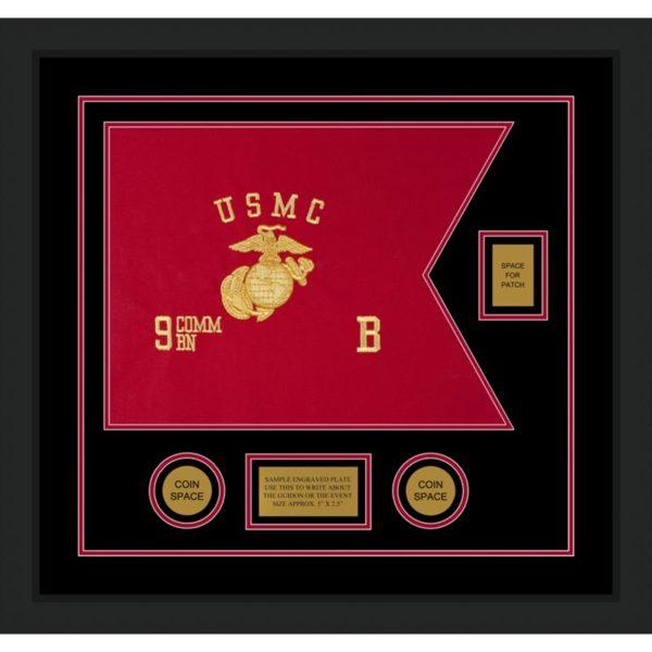 "Marine Corps 20"" x 15"" Guidon Design 2015-D2-M5"